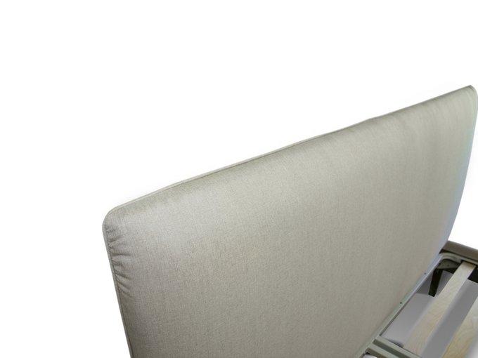 Кровать Эмбер 160х200 серого цвета