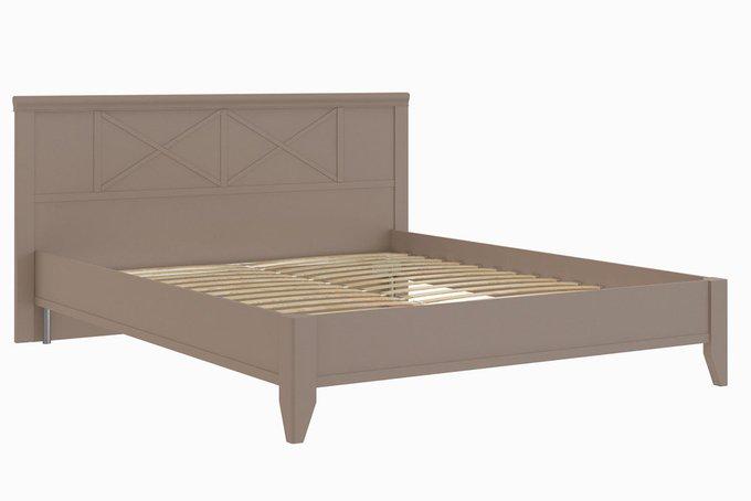 Кровать Кантри в цвете Серый Камень 160х200