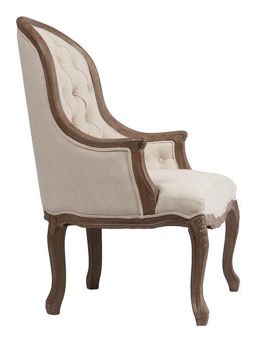 Кресло Armstrong Armchair Белый Лен