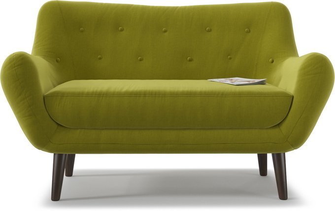 Диван прямой Элефант Green зеленого цвета