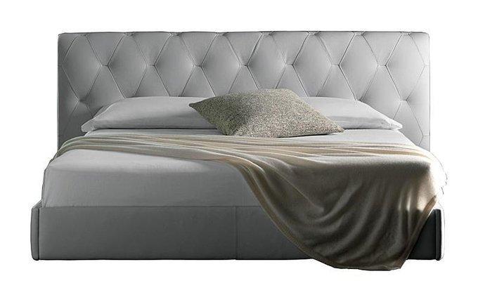 Кровать Bluemoon Белая Кожа Класса Премиум 160х200