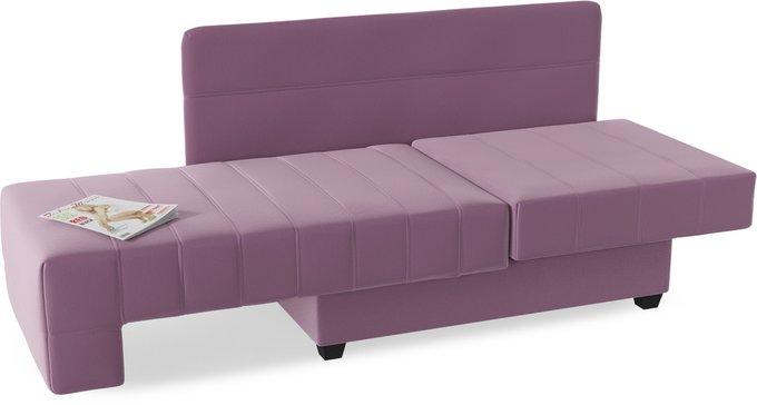 Диван-кровать Корфу NEXT Purple пурпурного цвета
