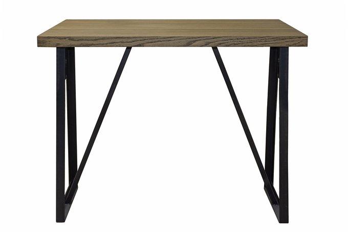 Барный стол с дубовой столешницей