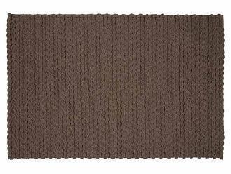 Ковер Trenzas коричневого цвета 170x240