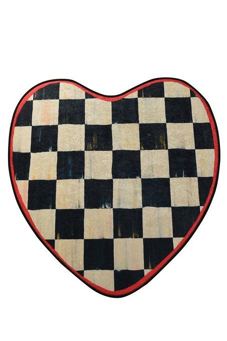 Ковер в форме сердца 140х140
