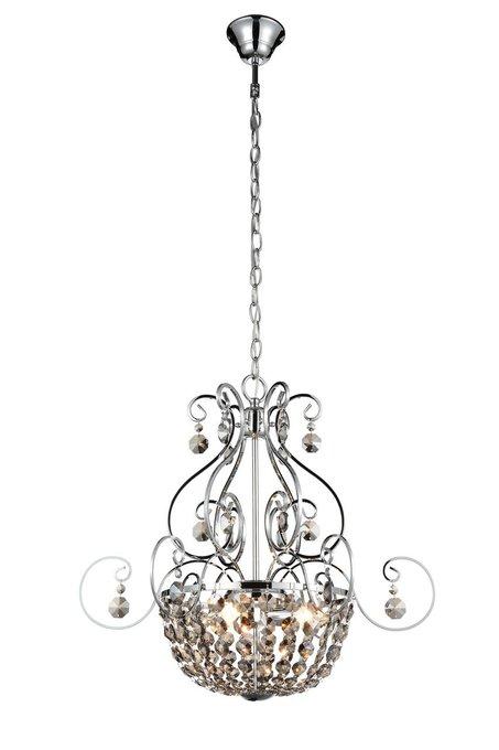 Подвесная люстра ST Luce Indovinello с декоративным плафоном из хрусталя