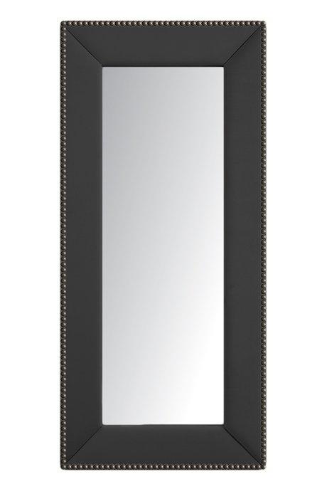 Зеркало напольное с гвоздиками Серое