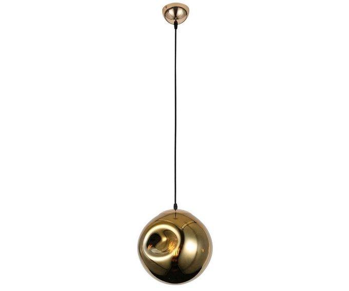 Подвесной светильник Пейто золотого цвета