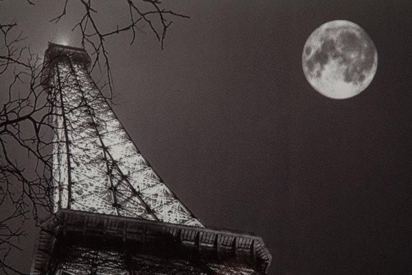 "Постер с паспарту в раме ""Tour Eiffel"""