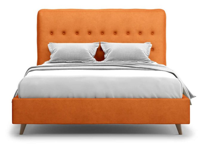Кровать Bergamo оранжевого цвета 160х200