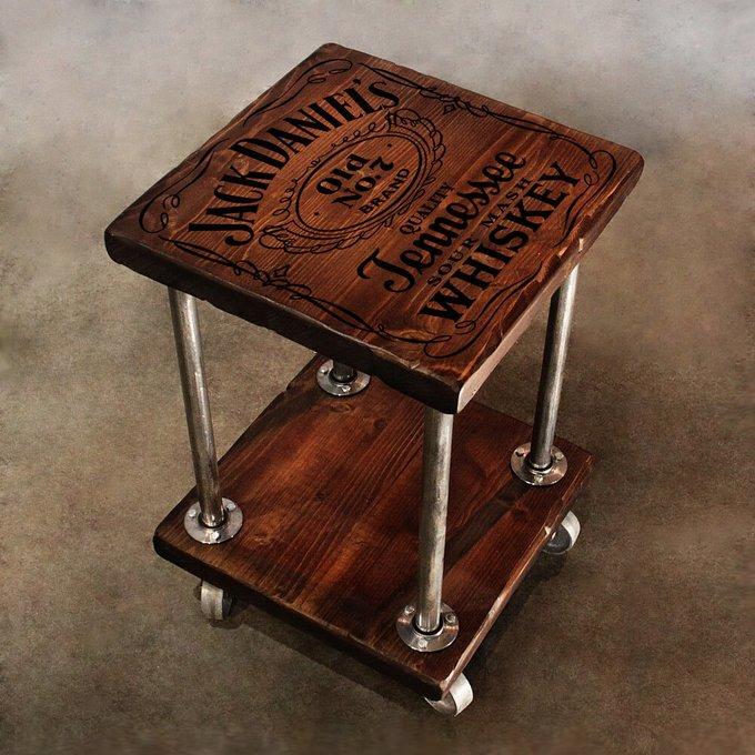 Кофейный столик на колесах Jack
