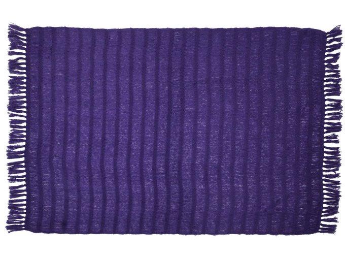 Плед Angola фиолетового цвета