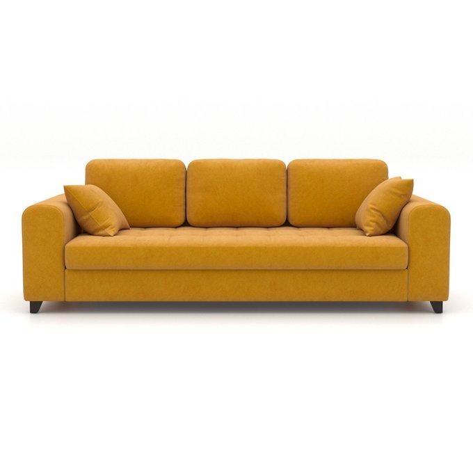Диван-кровать Vittorio EKL трехместный желтый