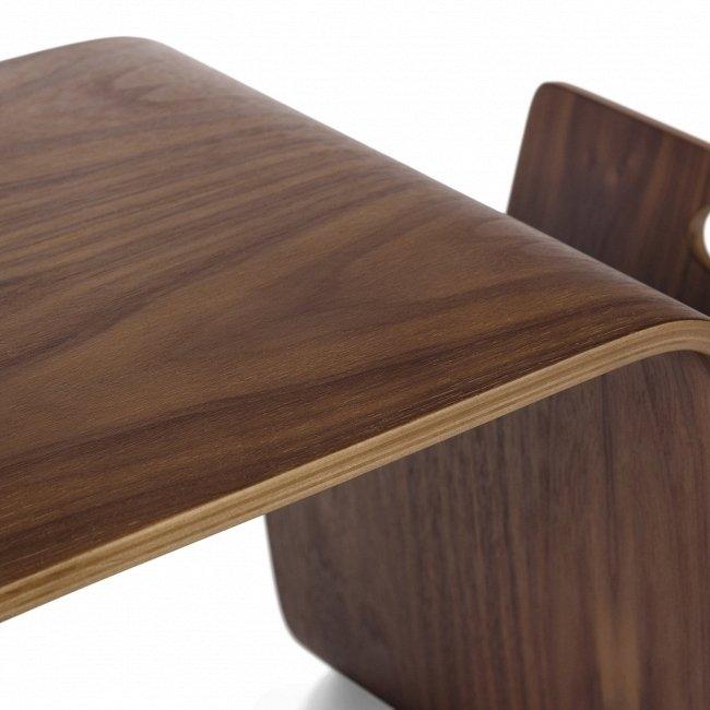 Кофейный стол Mag из натурального ореха