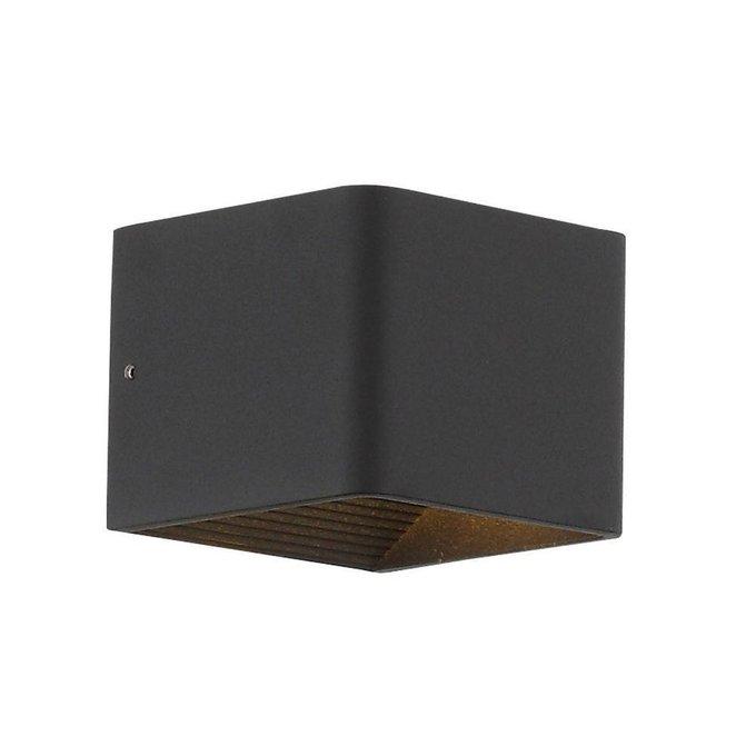 Настенный светодиодный светильник Grappa черного цвета