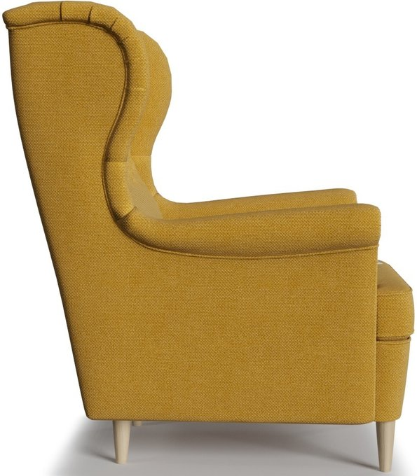 Кресло Торн горчичного цвета