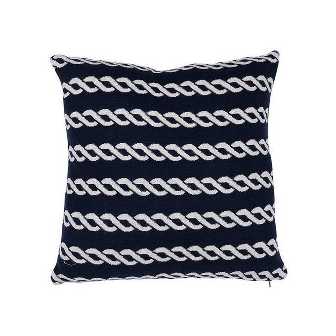 Подушка Eichholtz Pillow Maritime Cable с тканью из натурального (100%) хлопка