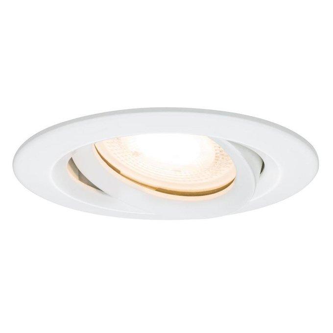 Встраиваемый светильник Nova белого цвета