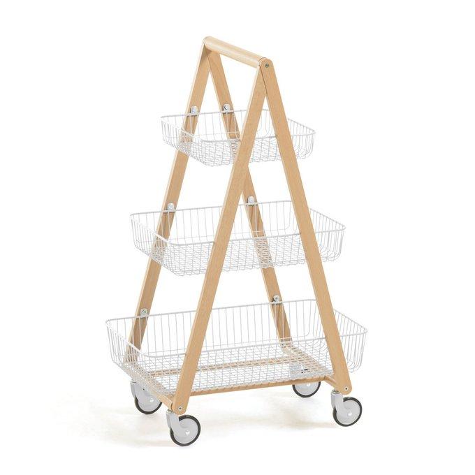 Стеллаж Rowley Kuri Trolley на колесиках