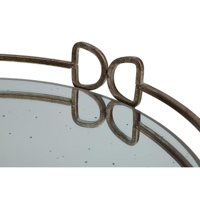 Круглый зеркальный поднос Brenna