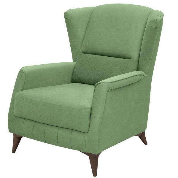 Кресло Эшли зеленого цвета