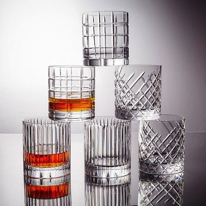 Бокал для виски Rayée из свинцового хрусталя