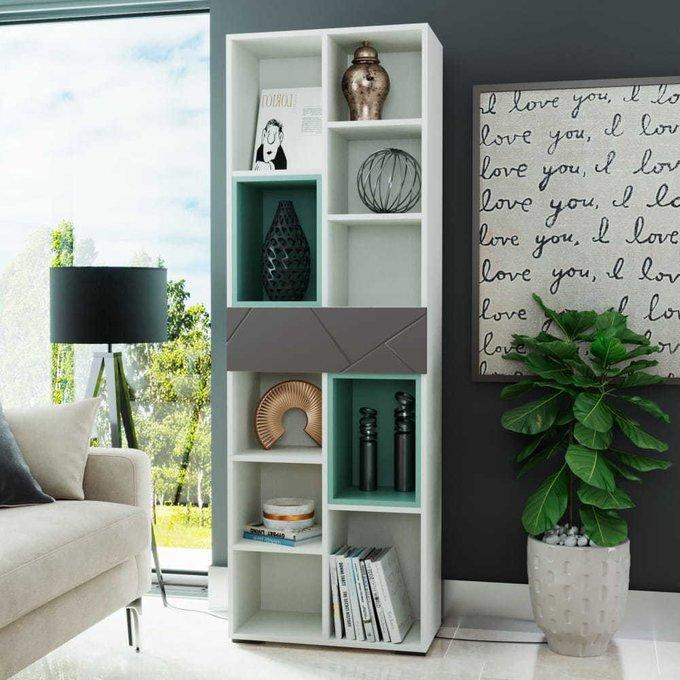 Шкаф Селеста с ящиком цвета софт графит