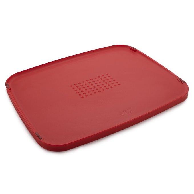 Доска разделочная Duo Multi-function двухсторонняя красного цвета