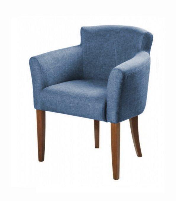 Кресло-стул Джером премиум синего цвета