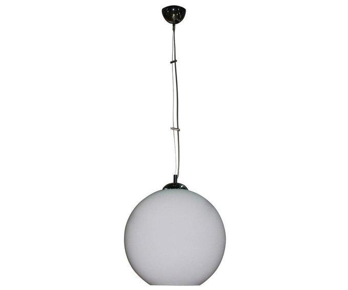 Подвесной светильник Опал белого цвета