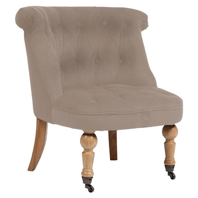 Кресло Amelie French Country Chair бежевого цвета
