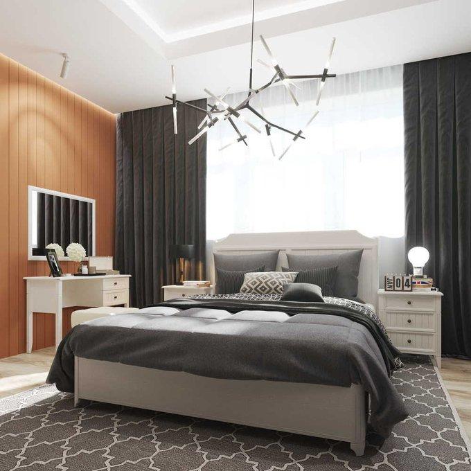 Кровать Маргарет 140х200 с подъемным механизмом  цвета Дуб белладжио
