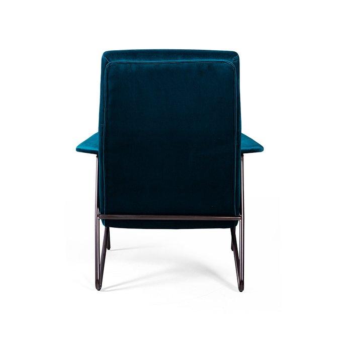 Кресло Chorio синего цвета