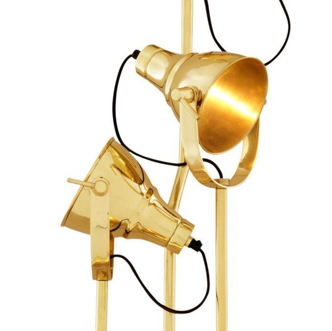 Торшер Melbury золотого цвета