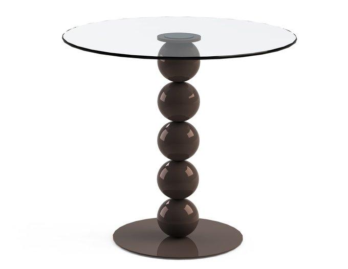 """Обеденный стол """"BLINTER Choco"""" со столешницей из закаленного стекла"""
