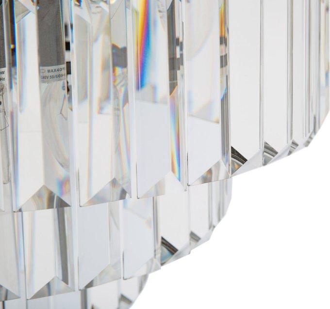 Торшер со стеклянным абажуром