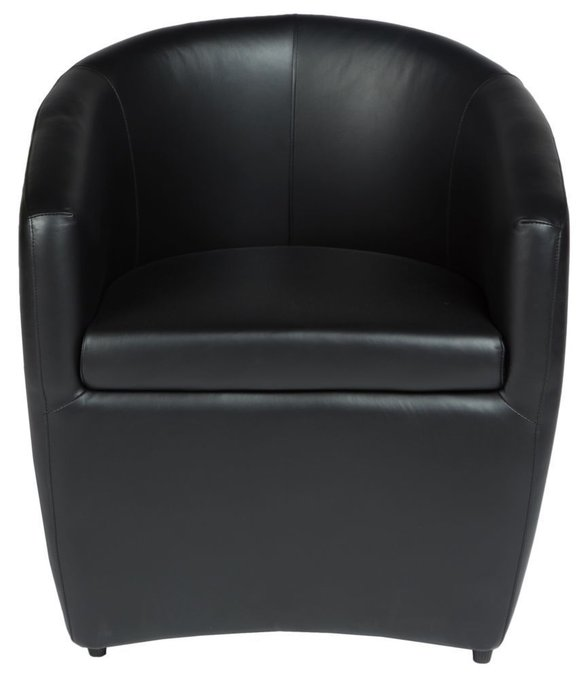 Кресло Jess dark кожаное