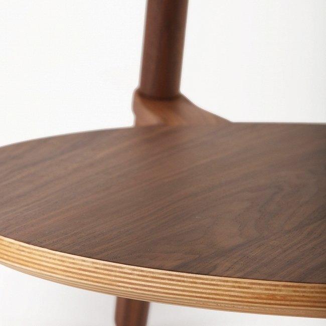 Журнальный стол Cutout из дерева и стекла