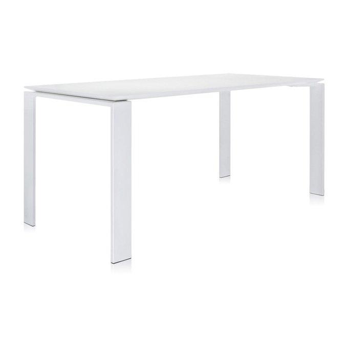 Стол офисный Four белого цвета