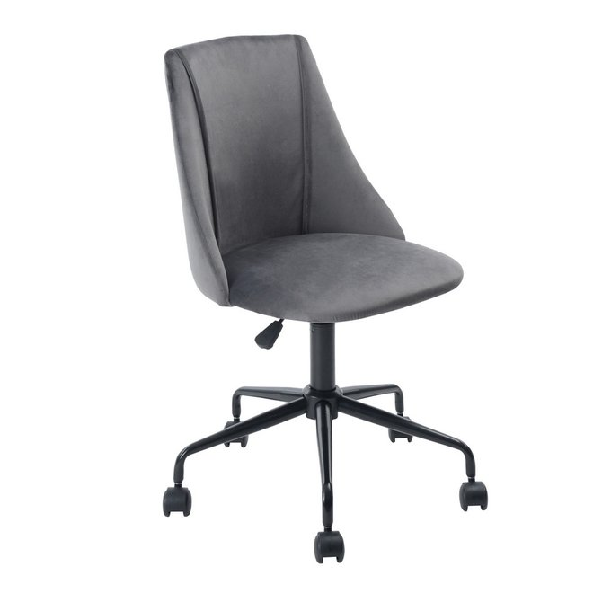Кресло офисное Сиана серого цвета