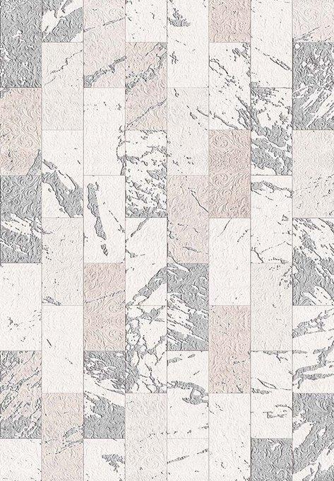 Коврик серо-бежевого цвета 160х230