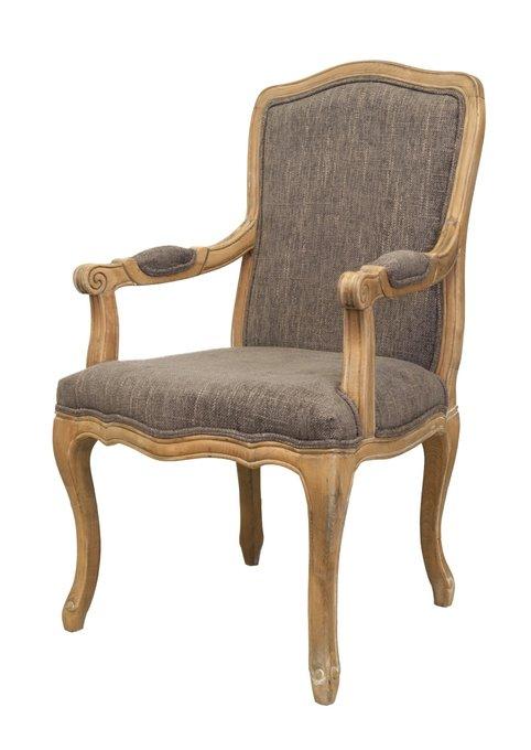 Кресло Wallis с обивкой из льна