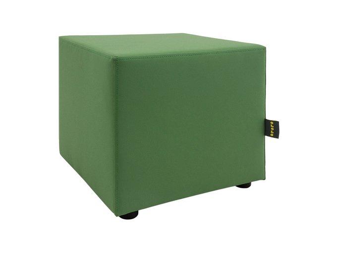Пуф Rubik зеленого цвета