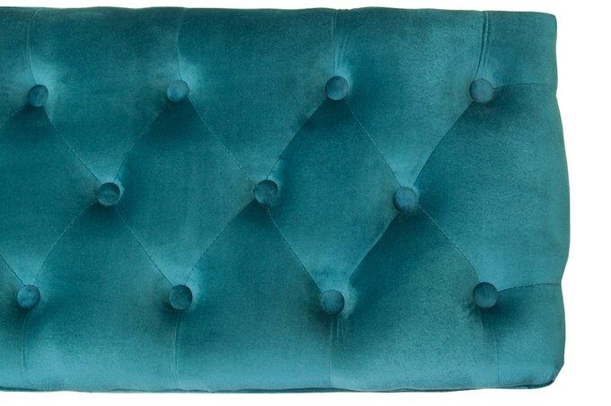 Оттоманка Kina narrow blue голубого цвета