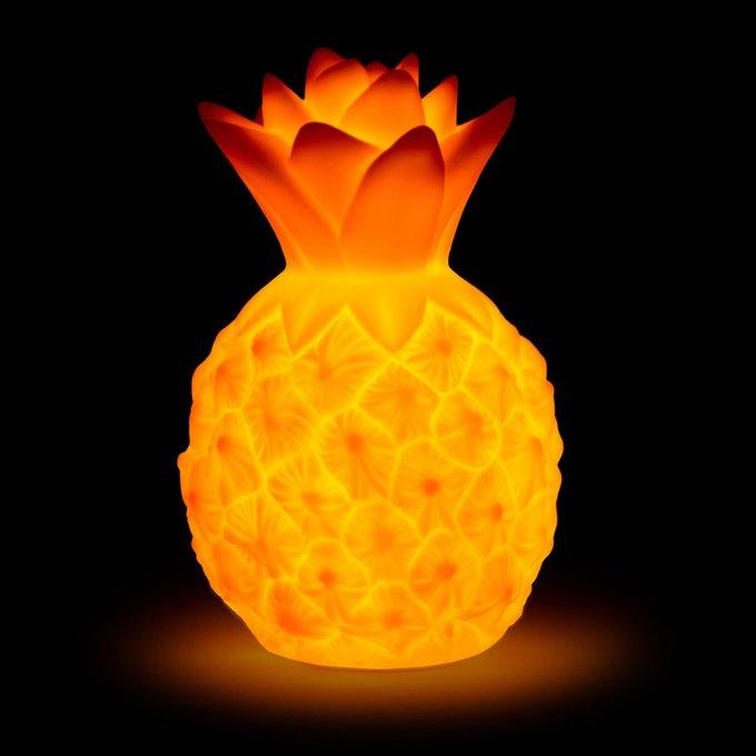 Детский ночник Pineapple из пластика