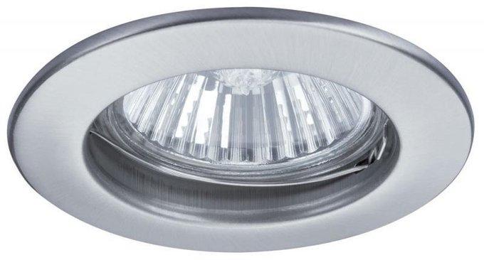 Встраиваемый светильник Premium Set серого цвета