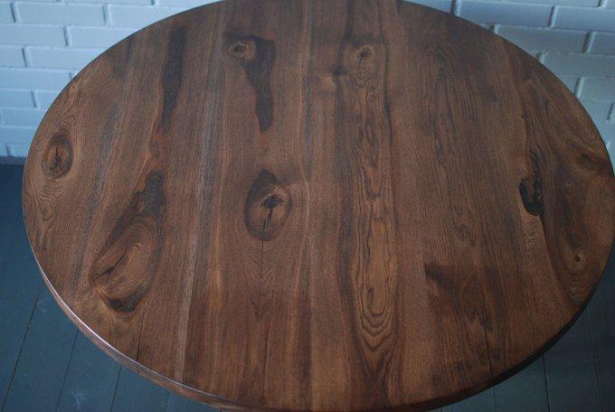 Обеденный стол Oak Slab со столешницей из слэбов дуба