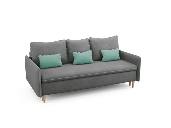 Диван-кровать Ron серого цвета