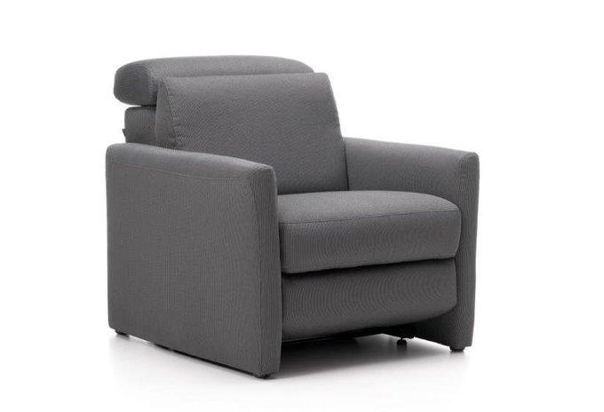 Кресло Tasman серого цвета