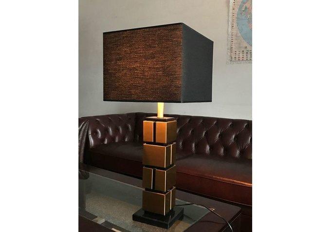 Настольная лампа Imperia с черным абажуром
